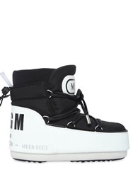 Moon Boot Msgm Nylon Logo Snow Boots