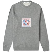 Givenchy Woven Patch Sweat Grey