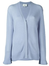 3.1 Phillip Lim Flared Cuffs Cardigan Blue