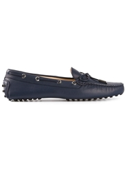 Tod's Bow Front Loafer Blue