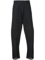 Nicolas Andreas Taralis High Waisted Trousers Black