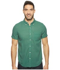 United By Blue Short Sleeve Katahdin Cross Shirt Green Men's Clothing