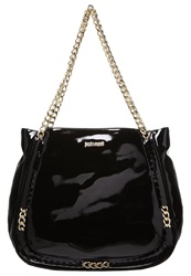 Just Cavalli Handbag Black Gold
