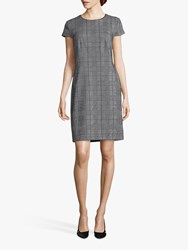 Betty And Co. Check Shift Dress Black White