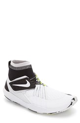 Nike Men's Flylon Train Dynamic Training Shoe White White Black Volt
