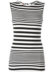 I'm Isola Marras Striped Tank Top Black