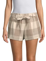 Lucca Couture Catalina Paper Bag Shorts Sand Bank