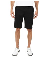 Dockers Classic Fit Flat Front Golf Shorts Black Metal Men's Shorts Gray