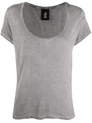 Thom Krom Relaxed Fit T Shirt Grey