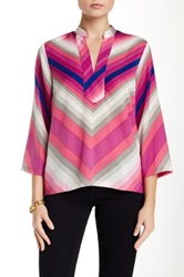Julie Brown Willa Blouse Pink