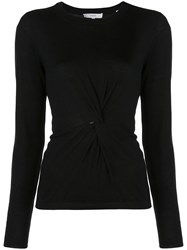 Vince Twist Front Top Black