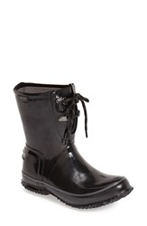 Women's Bogs Waterproof Rubber Boot Black