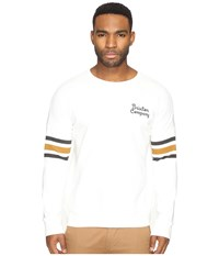 Brixton Barton Crew Fleece Off White Men's Fleece