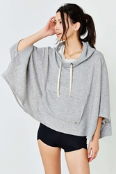 Without Walls Warm Up Poncho Grey
