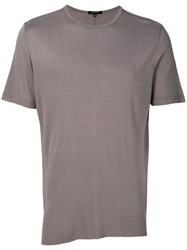 Unconditional Loose Fit T Shirt Men Rayon Xl Grey