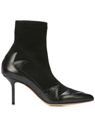 Francesco Russo Pointed Toe Boots Black