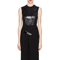Givenchy Coated Satin Top Black