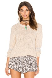 Knot Sisters The Owl Sweater Beige