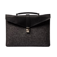 Estie Bags Slim Laptop Case Dark Grey