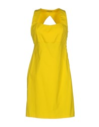 Hope Collection Short Dresses Yellow