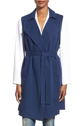 Women's Halogen Sleeveless Trench Coat