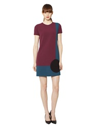 Raoul Bree T Shirt Dress Red Harbor Blue