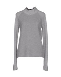 Lorena Antoniazzi Knitwear Turtlenecks Women Grey