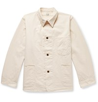 Orslow Cotton Twill Chore Jacket Neutrals