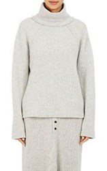 Regulation Yohji Yamamoto Women's Oversized Turtleneck Sweater Grey Si