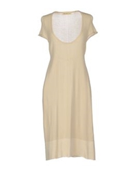 Appartamento 50 Knee Length Dresses Ivory