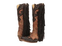 Corral Boots A3149 Brown Chocolate Women's