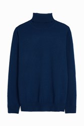 Paul And Joe Cashmere Roll Neck Jumper Navy