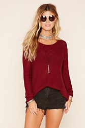 Forever 21 V Back Knit Sweater