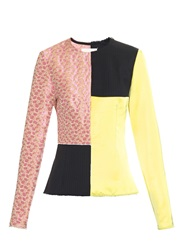 Maison Martin Margiela Patchwork Long Sleeved Top