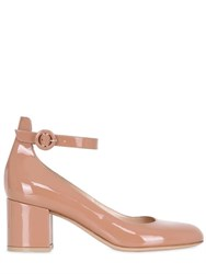 Gianvito Rossi 60Mm Patent Leather Mary Jane Pumps