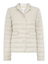 Part Two Super Soft Down Collared Jacket. White