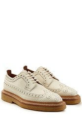 Burberry Shoes And Accessories Leather Wingtip Brogues