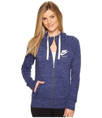 Nike Sportswear Full Zip Hoodie Binary Blue Sail Women's Sweatshirt