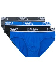 Emporio Armani Logo Briefs Multicolour