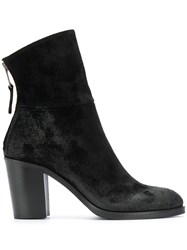 Strategia Textured Block Heel Boots 60