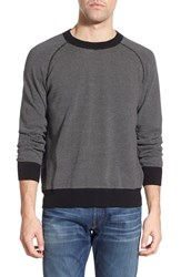 Men's Billy Reid Stripe Crewneck Sweater
