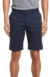 Lacoste Slim Fit Chino Shorts Navy Blue