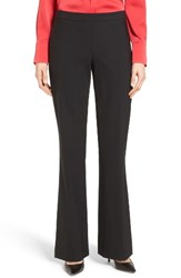 Boss Women's 'Tulea' Bootcut Stretch Wool Suit Trousers Black