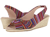 Fitzwell Sally Guatemalan Stripe Fabric Women's Shoes Multi