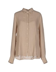 Robert Friedman Shirts Shirts Women Beige