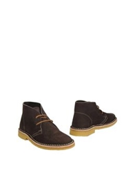 Fiorina Shoe Boots Dark Brown