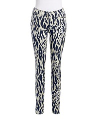 7 For All Mankind Patterned Jeans Black