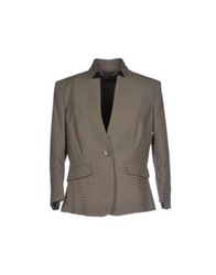 Les Copains Blazers Military Green