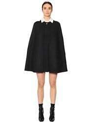 Valentino Double Felted Wool Cape
