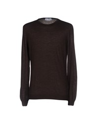 Lo Not Equal Sweaters Dark Brown